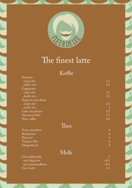prijslijst koffie